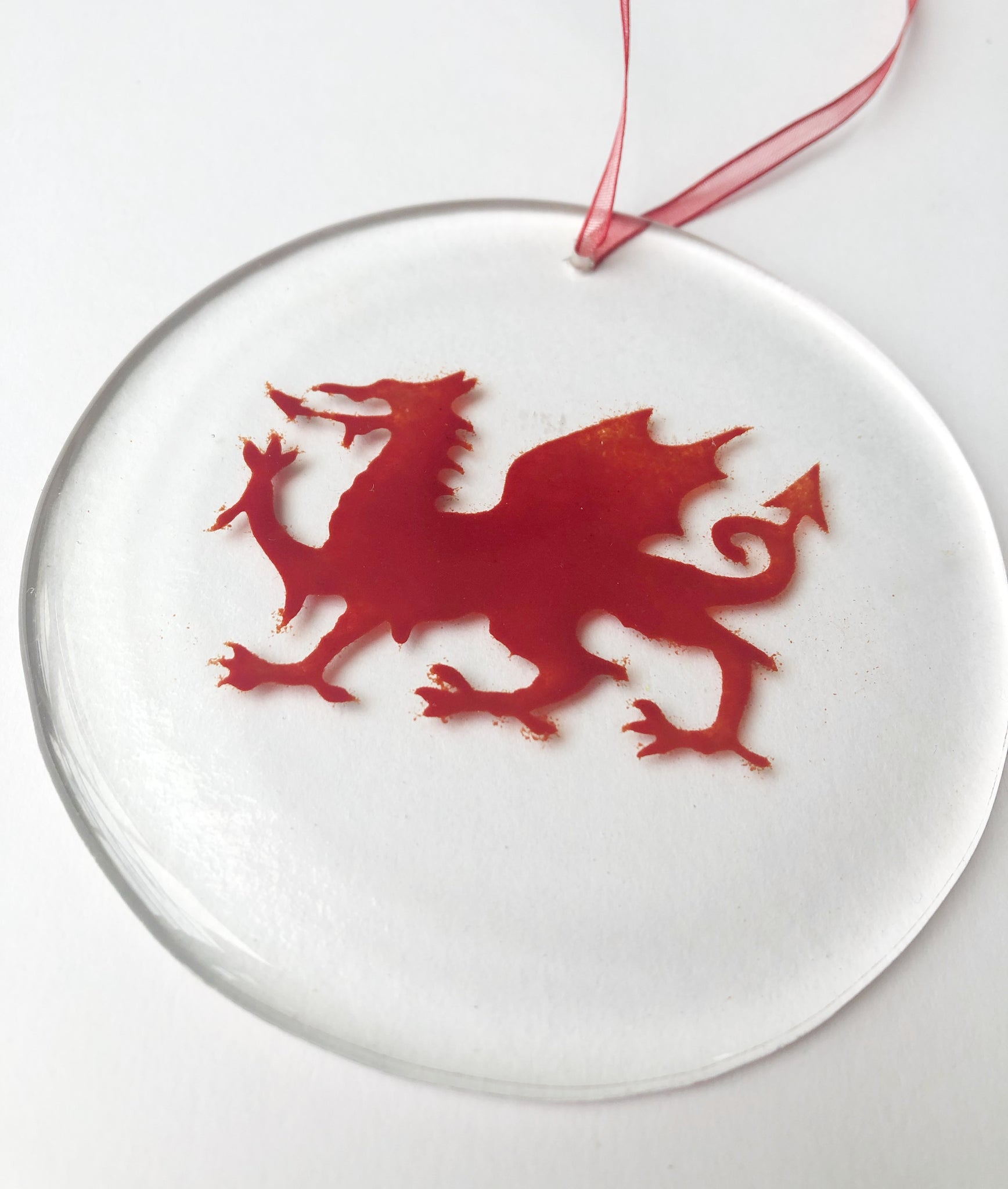 Welsh Dragon Suncatcher