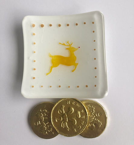 Mini Leaping Reindeer Bowl