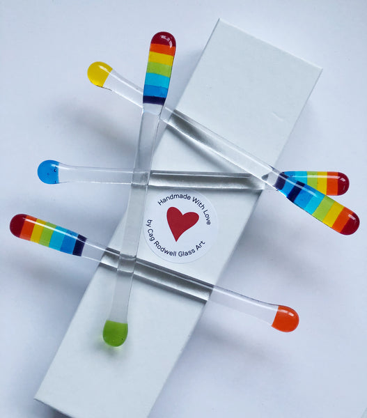 Rainbow Bright Swizzle Sticks
