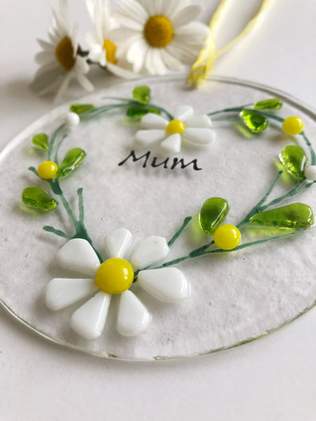Lazy Daisy wreath