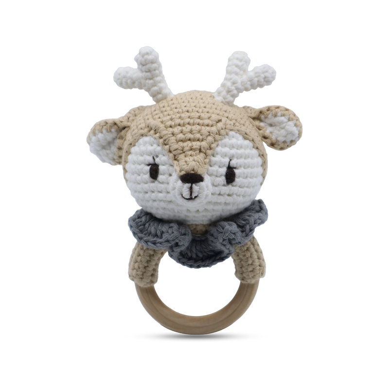 Reindeer - Ring Rattle