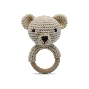 Teddy - Ring Rattle
