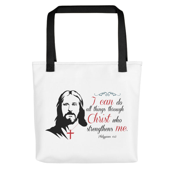 I can do all things through Christ who strengthens me Tote bag