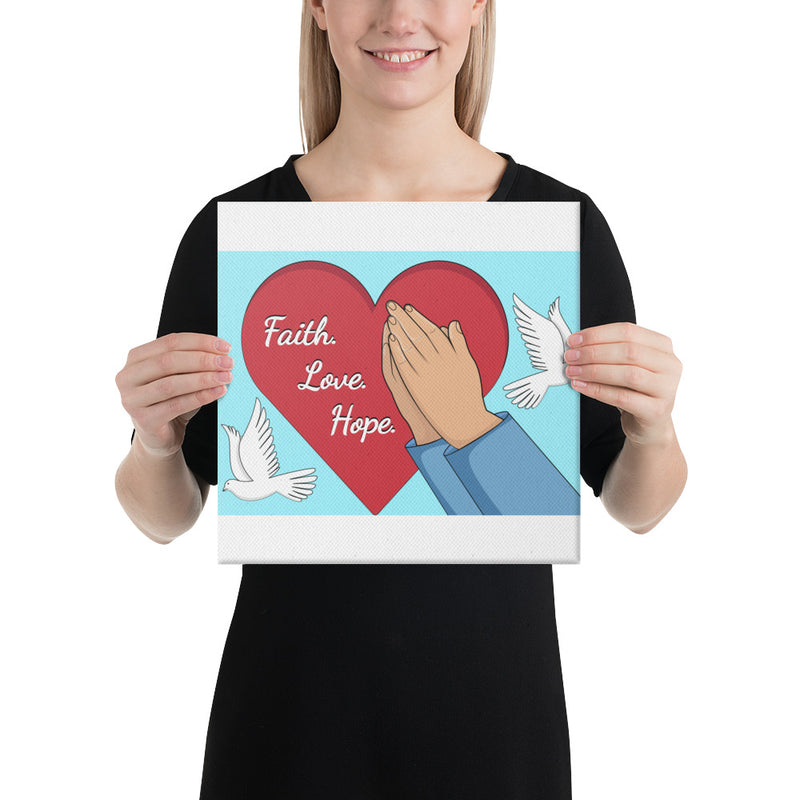 Faith Hope Love Canvas