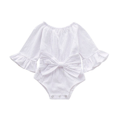 Lovely Baby  Girls  BowKnot Bodysuit