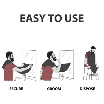 Smart Hair/Beard Apron - Avoid The Mess