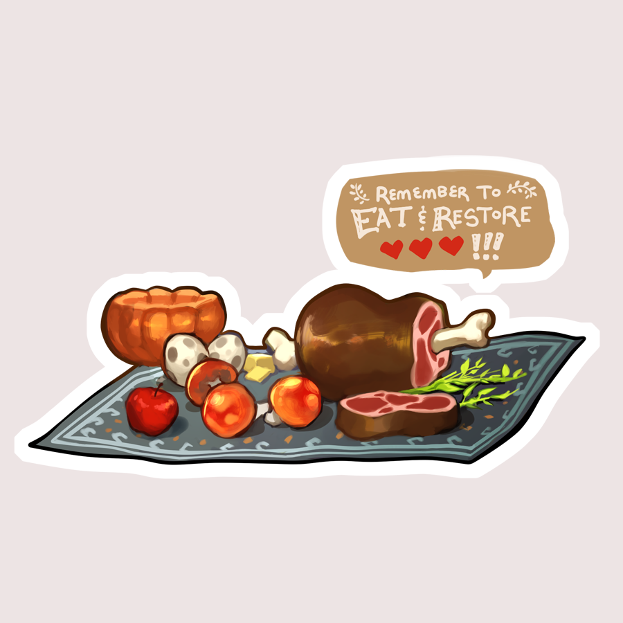 BOTW- Meal sticker