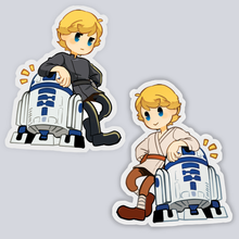 Load image into Gallery viewer, SW- Luke+ R2D2 charm