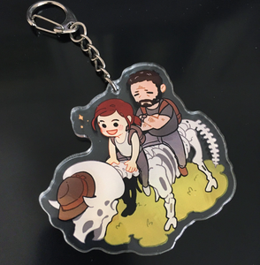 TLOU- Stickers and charms