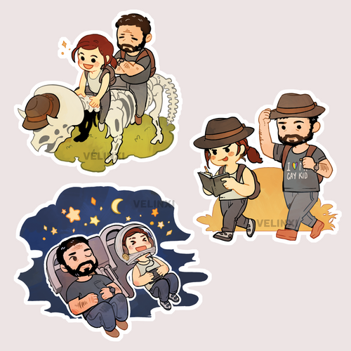 [PRE-ORDERS] TLOU- Stickers and charms