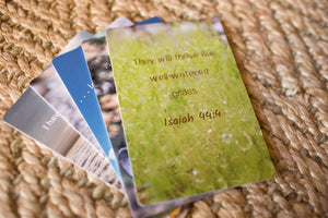 Grass (with Scripture) Cards