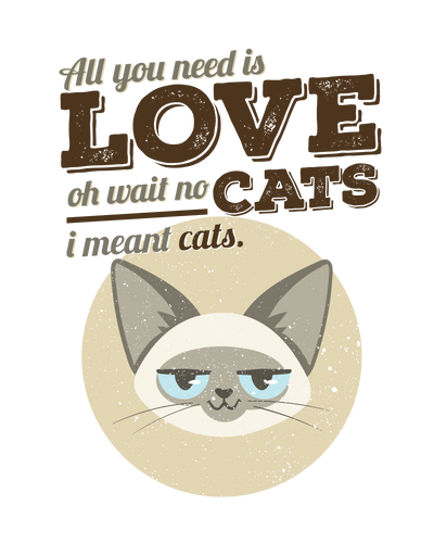 All You Need is Cats T-Shirt