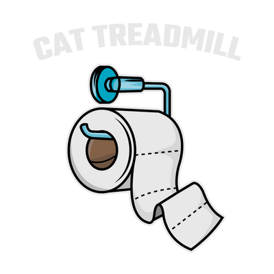 Cat TP Treadmill T-Shirt