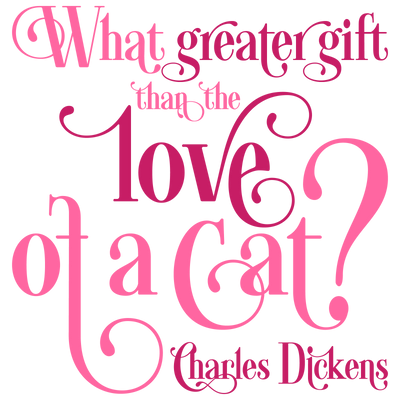 Cat Love - The Greatest Gift T-Shirt