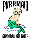 Purrmaid Cat / Mermaid T-Shirt