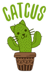Cactus Cat (Catcus) T-Shirt
