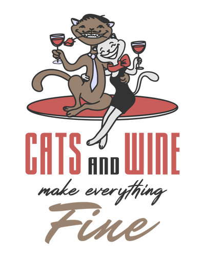 Cats & Wine Make Everything Fine T-Shirt