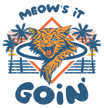 Meows It Goin Cool Cat T-Shirt