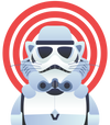 Stormtrooper Cat T-Shirt