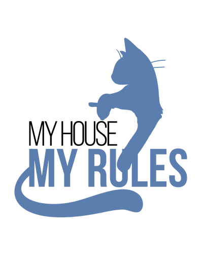 My House My Rules Cat T-Shirt