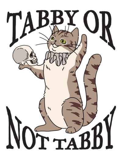 Cat Hamlet To Be Or Not T-Shirt