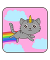 Rainbow Unicorn Cat T-Shirt