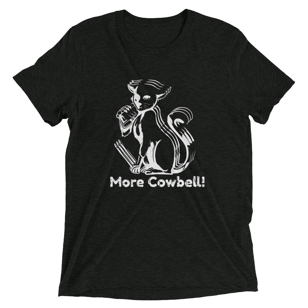 More Cowbell Cat T-Shirt