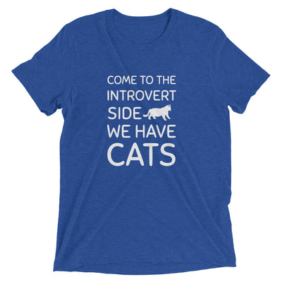 Introvert Side Has Cats T-Shirt