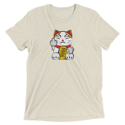 Lucky Cat #9: Angry Cat T-Shirt