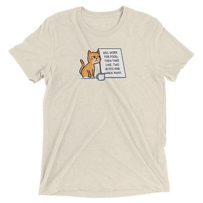 Panhandler Cat T-Shirt