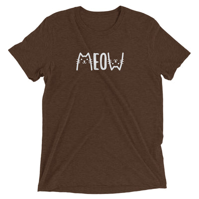 Meow Upside Down T-Shirt