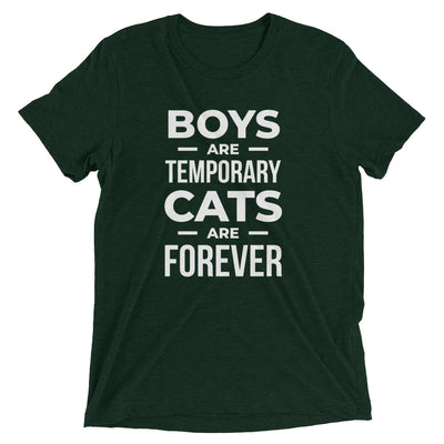 Boys Temporary, Cats Forever T-Shirt