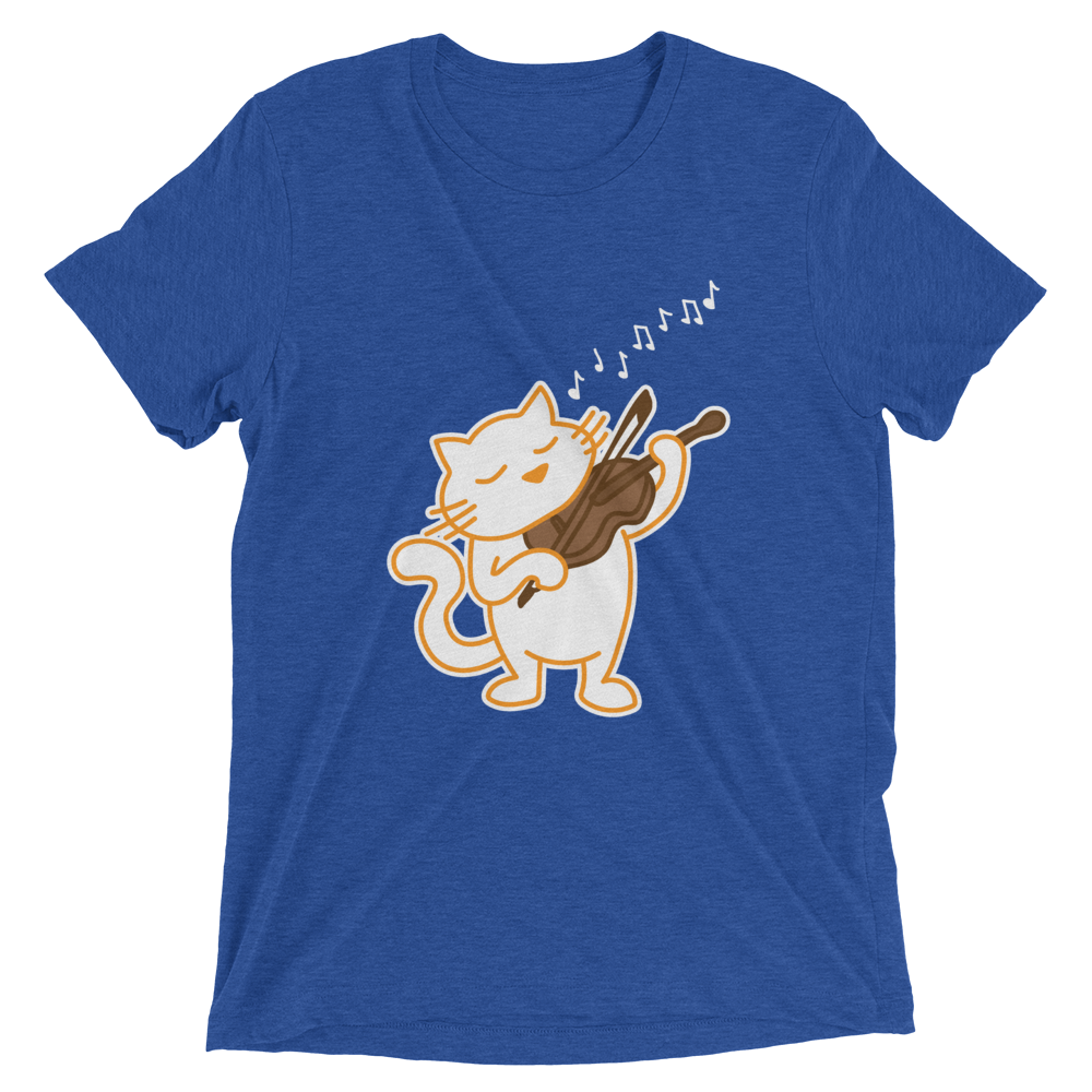 Violin Solo Cat T-Shirt