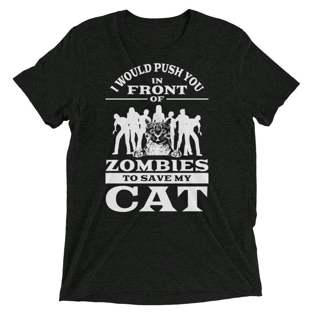 Save Cats from Zombies T-Shirt