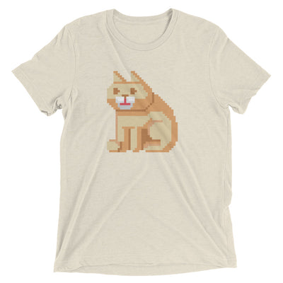 Pixels Cat T-Shirt
