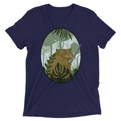 Irritated Hunting Cat T-Shirt