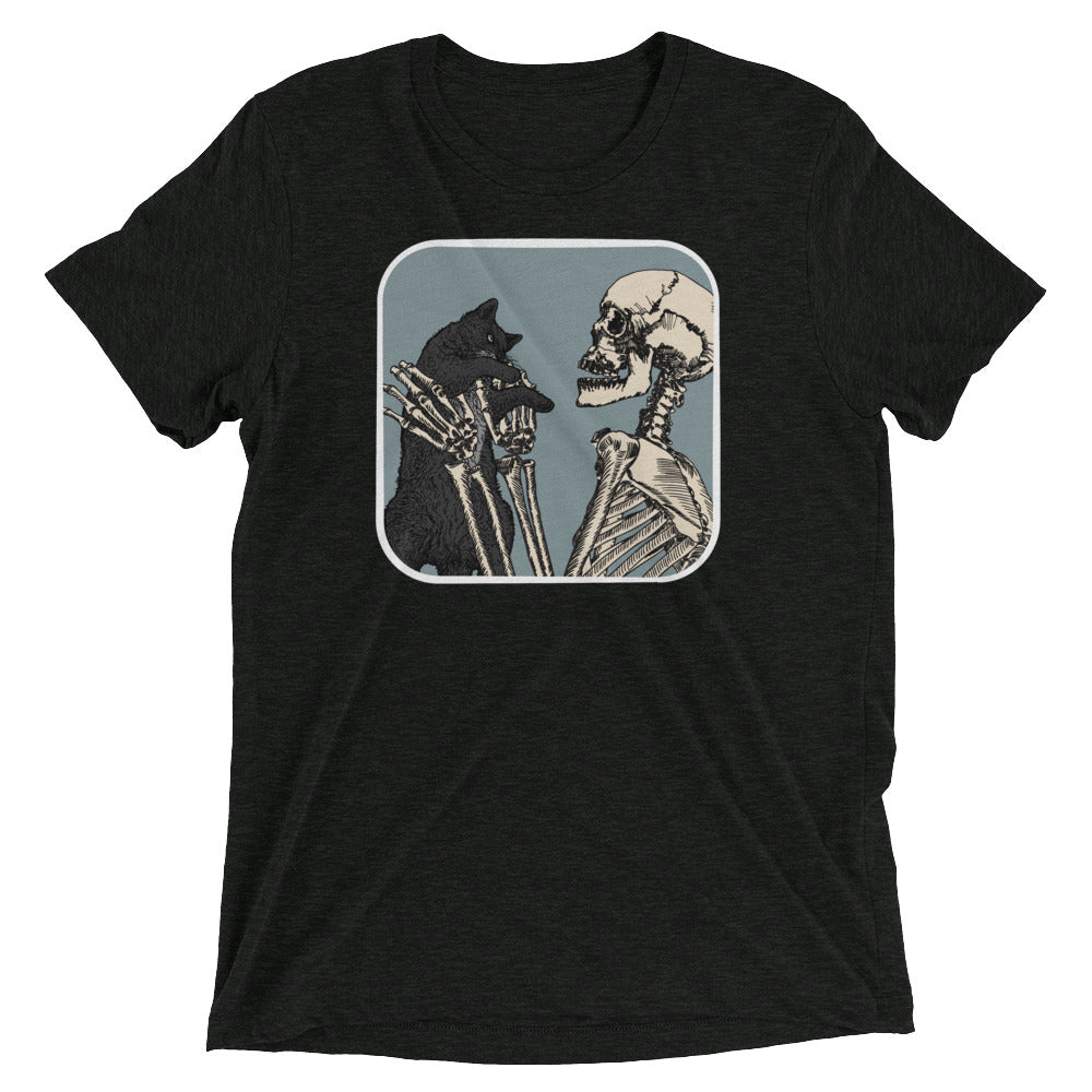 Skeleton Cat Pet T-Shirt