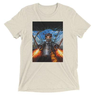 Iron Kitten: Biplane T-Shirt