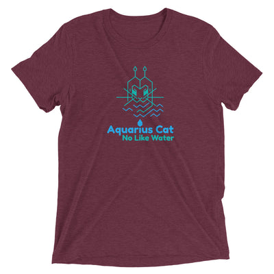 Aquarius Astrology Cat T-Shirt