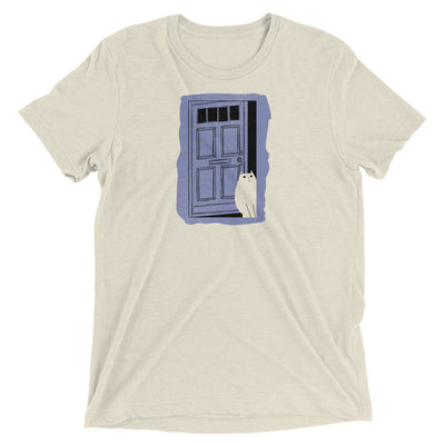 Cat At The Door T-Shirt