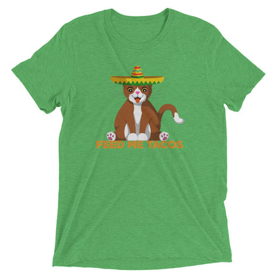 Feed Me Tacos Cat T-Shirt