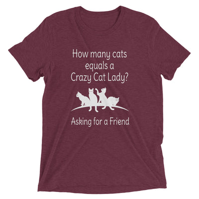 How Many Crazy Cat Lady T-Shirt