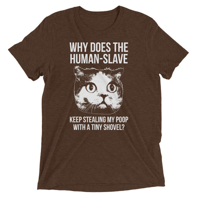 Human Cat Poop Stealer T-Shirt