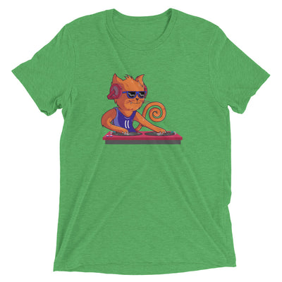 DJ Scratchy Cat T-Shirt