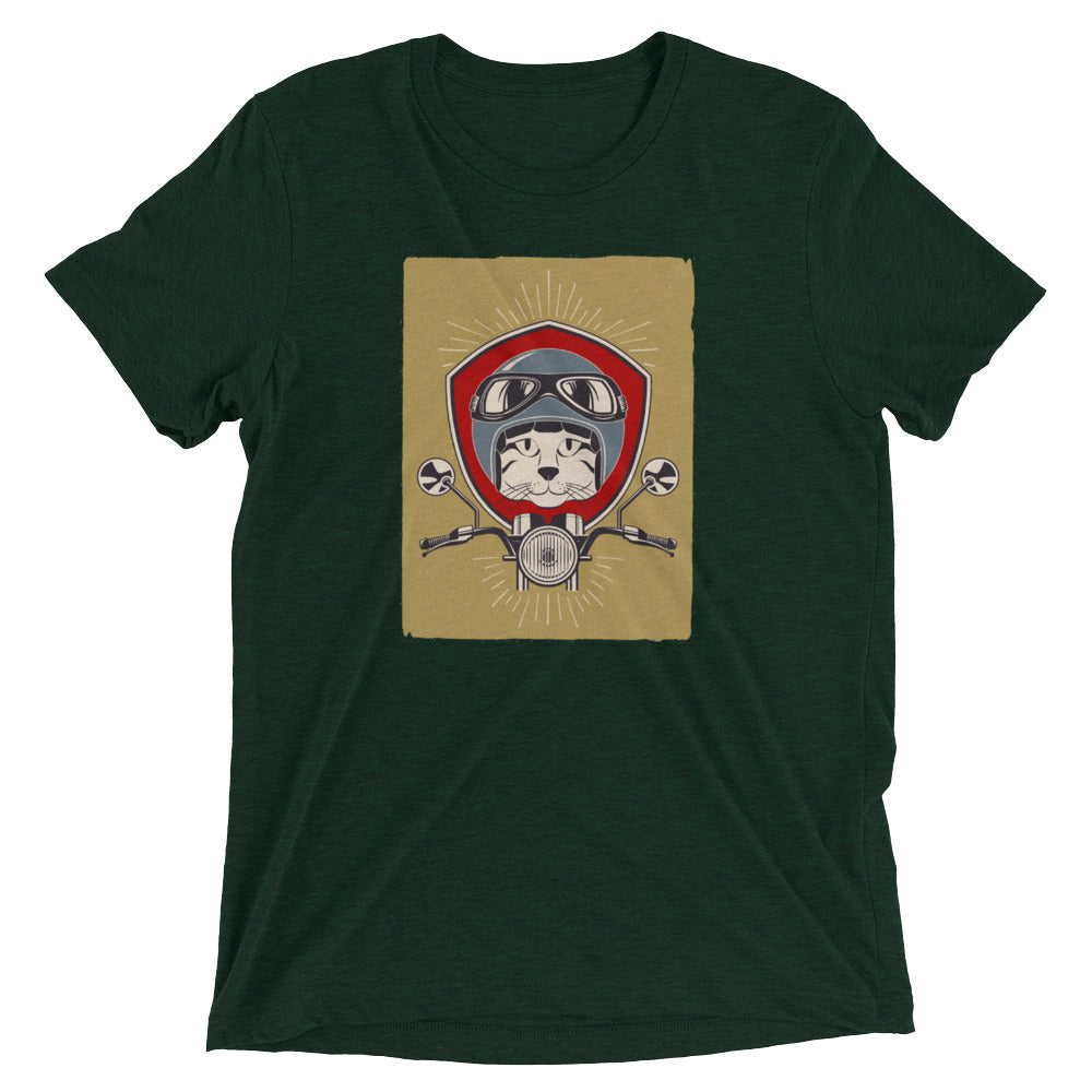 Cafe Racer Cat T-Shirt