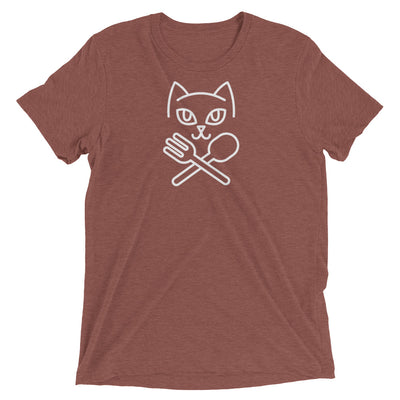 Cat Fork and Spoon T-Shirt