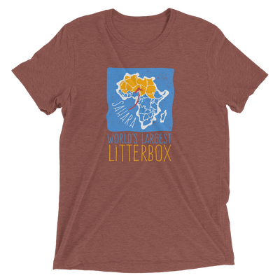 The Sahara: World's Largest Litterbox T-Shirt