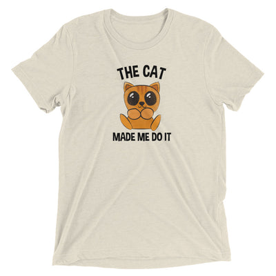 Cat Made Me Do It T-Shirt