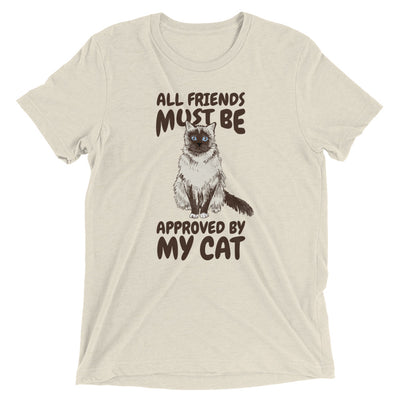 Cat Approves Friends T-Shirt