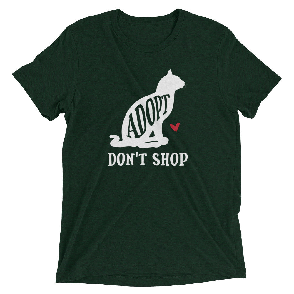 Adopt Don't Shop Cat T-Shirt